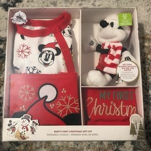 Mickey Mouse First Christmas Gift Set for Baby